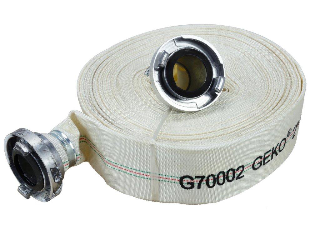 7634 pozarni hadice 2 30m s koncovkami geko g70002