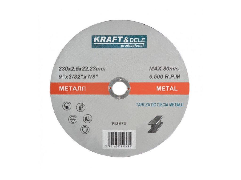Řezný kotouč na ocel 230x2,5mm