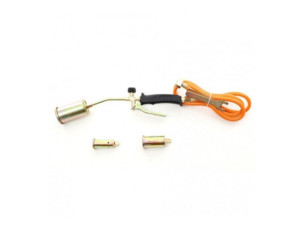 Plynový opalovací hořák PB + 3 koncovky, Kraft&Dele KD10302