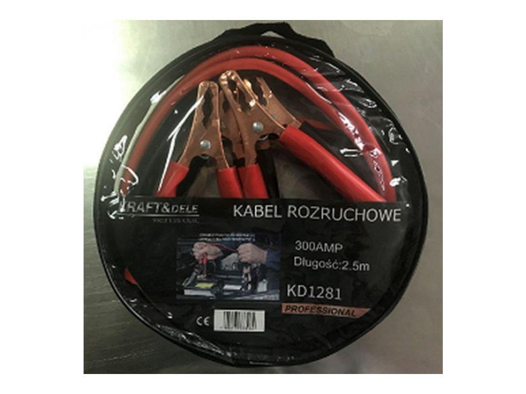 Startovací kabely 300A 2,5m