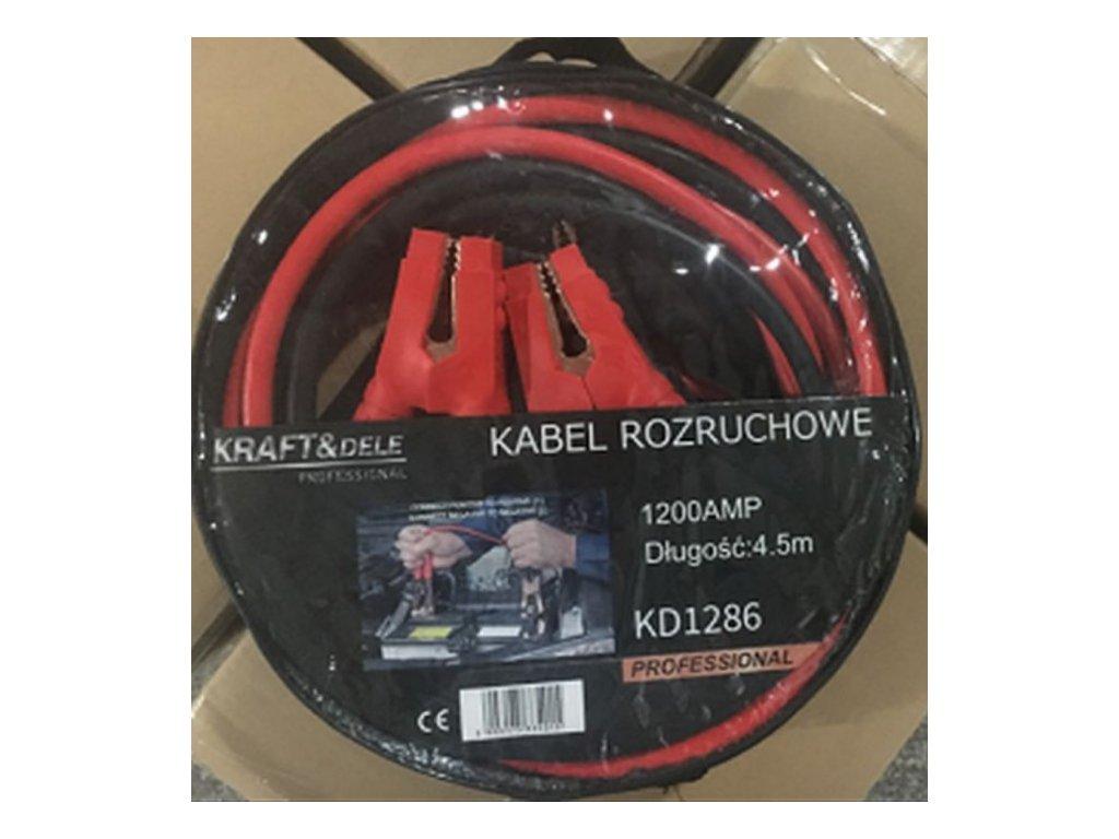 Startovací kabely 1200A 4,5m
