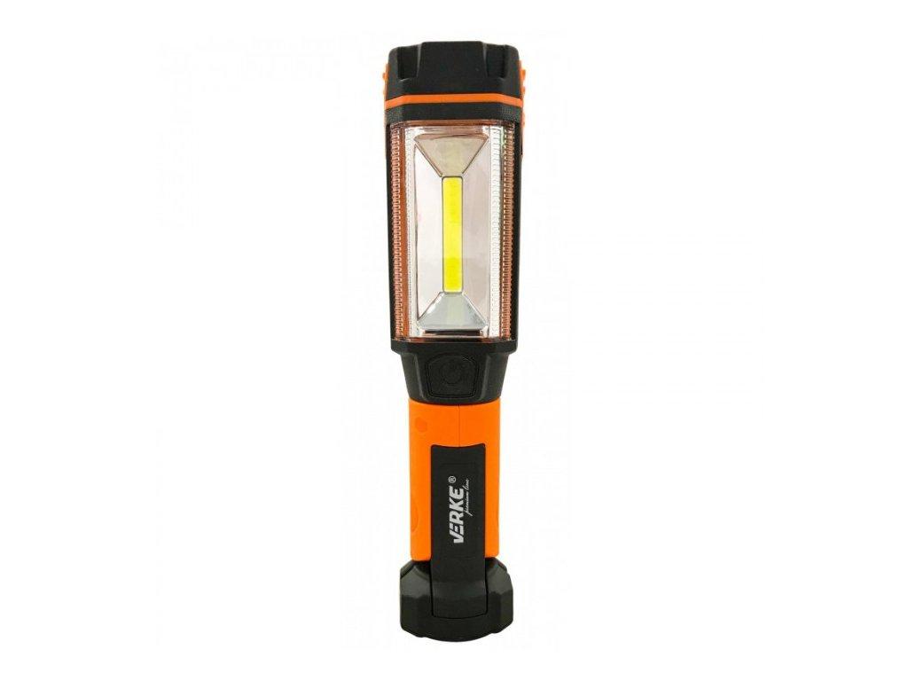 LED svítilna 3W s nabíjecím Li-ion akumulátorem 2600mAh