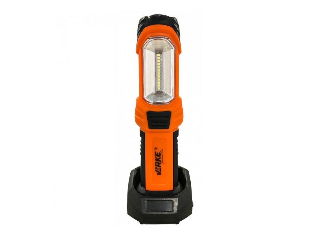 LED svítilna 2W + 1W s nabíjecím Li-ion akumulátorem 2000mAh