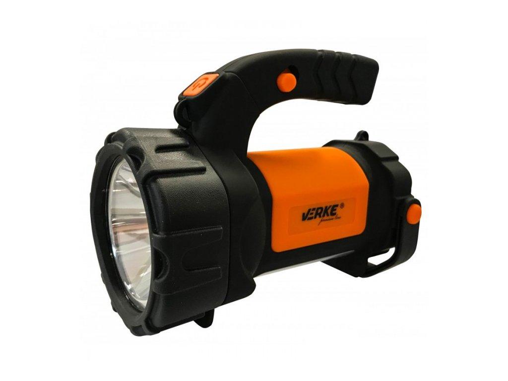 LED svítilna CREE COB 3W + COB 1,5W s nabíjecím Li-ion akumulátorem 2000mAh