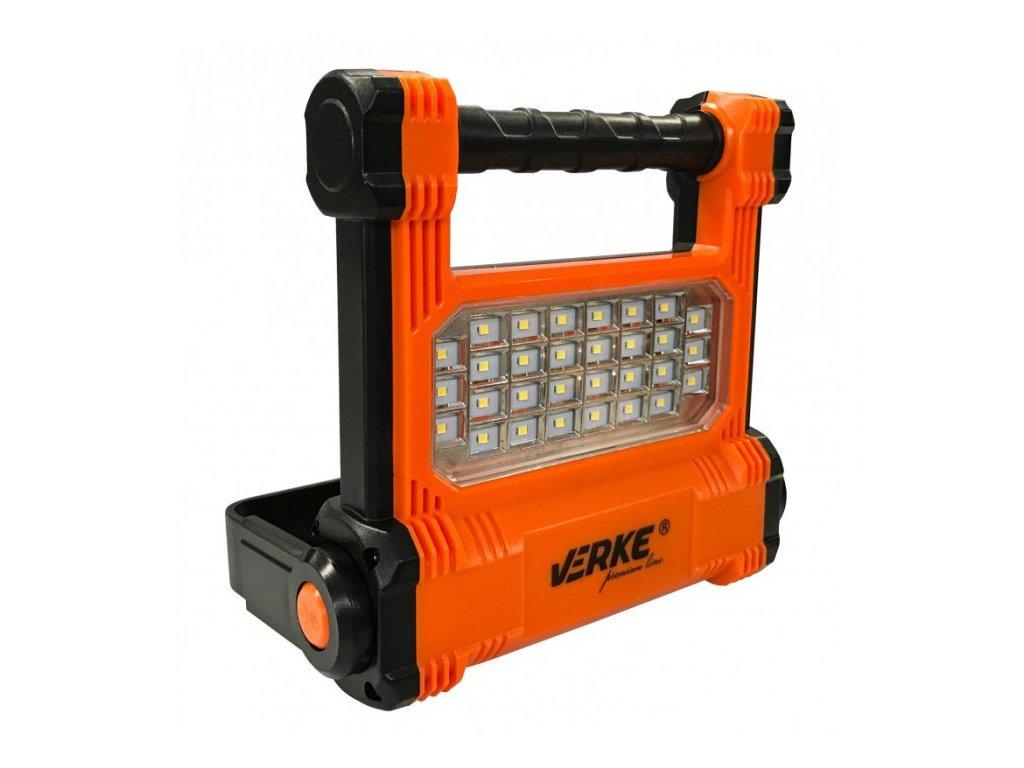 LED svítilna 10W s nabíjecím Li-ion akumulátorem 2200mAh