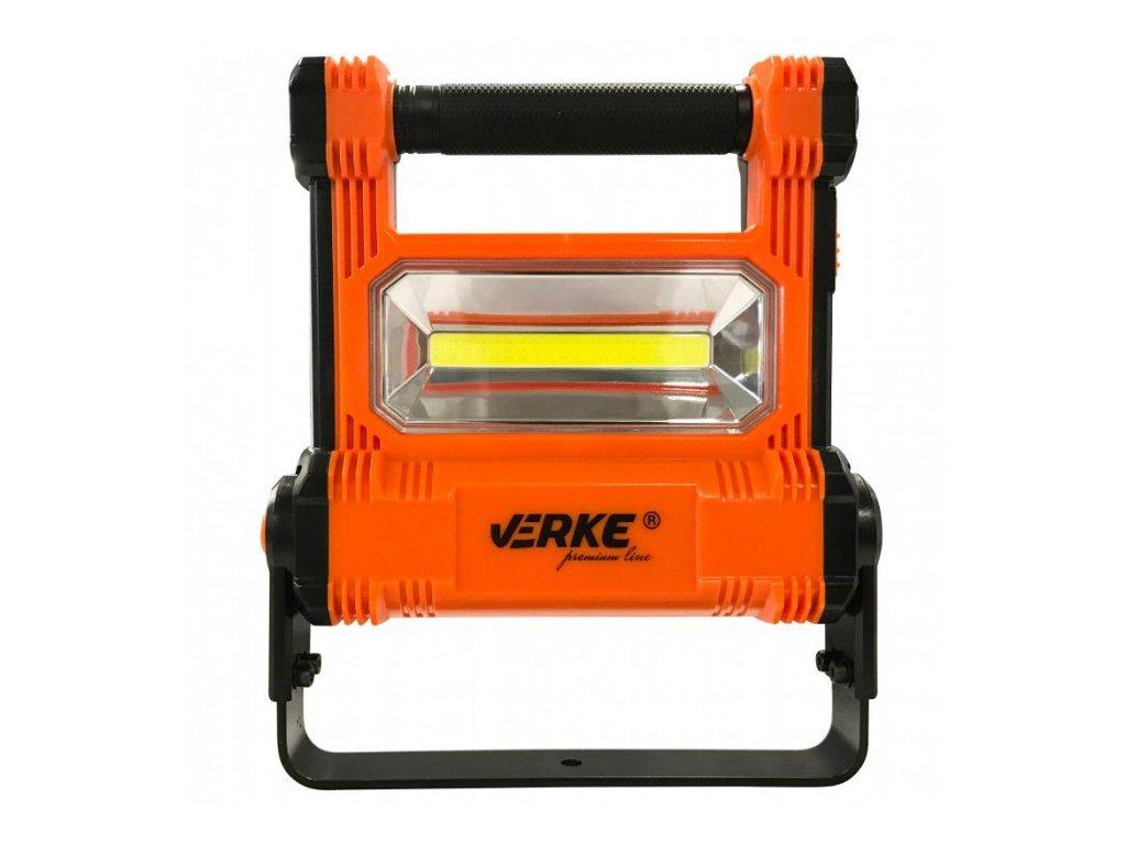 LED svítilna 20W s nabíjecím Li-ion akumulátorem 4400mAh a odnímatelnou baterkou