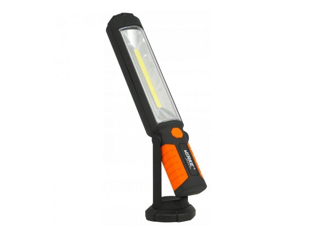 LED svítilna 5W + 5xLED s nabíjecím Li-ion akumulátorem 2600mAh