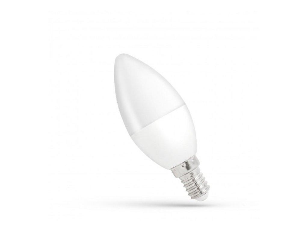 LED žárovka E14 8W 680lm studená bílá