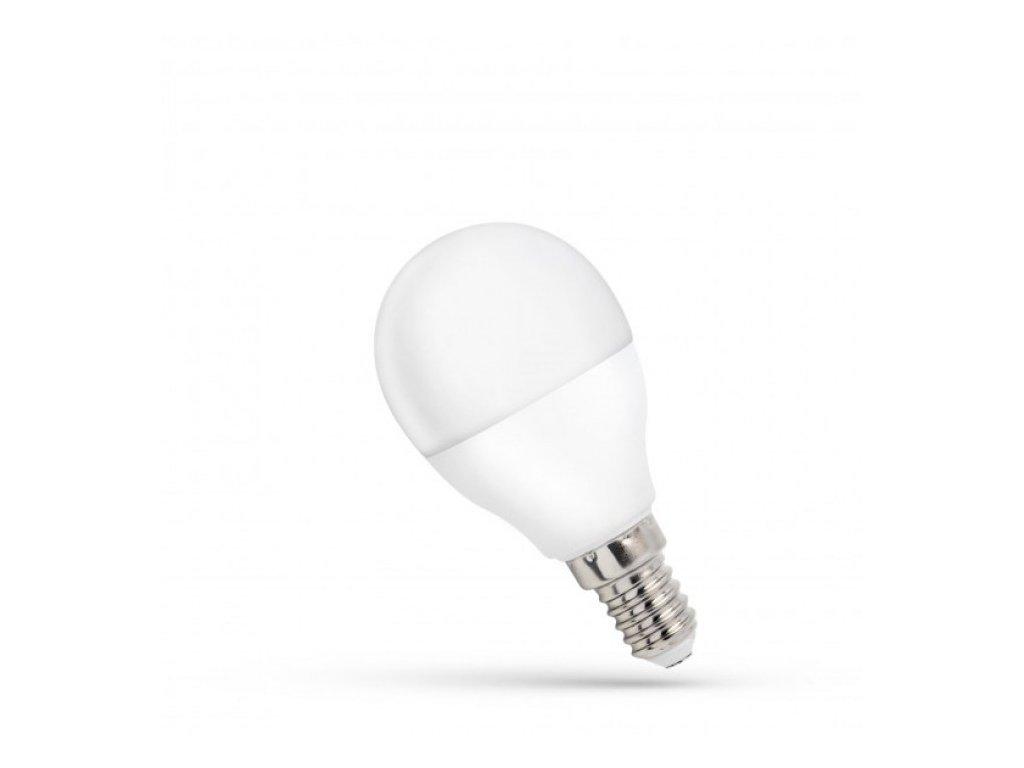 LED žárovka E14 8W 650lm neutrální bílá