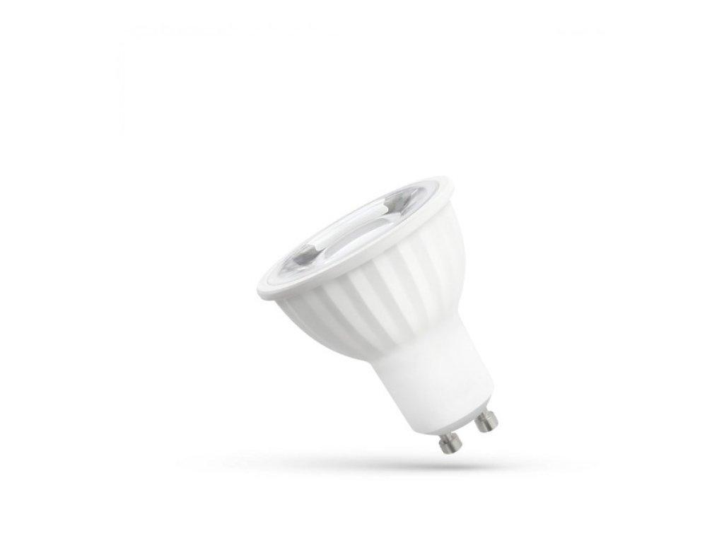 LED žárovka GU10 6W 500lm teplá bílá reflektor
