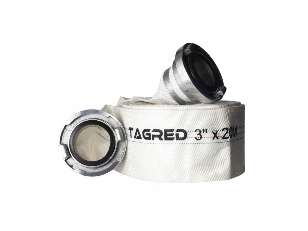 "Požární hadice 3"", 20m, s koncovkami, Tagred TA532"