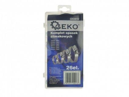 Sada hadicových spon 26ks, Geko G02812