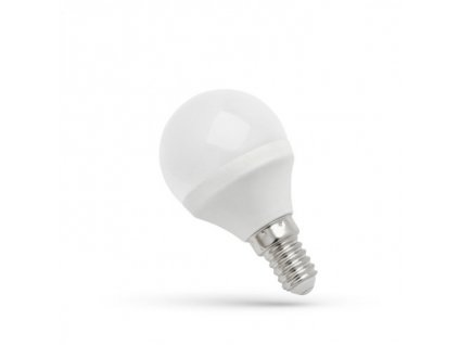 LED žárovka E14 6W 500lm studená bílá