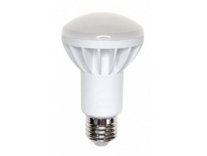 LED žárovka E27 8W 630lm teplá bílá R63