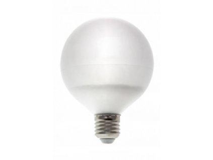 LED žárovka GLOB E27 13W 1020lm teplá bílá