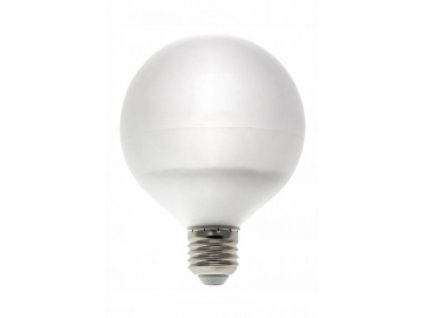 LED žárovka GLOB E27 13W 1050lm studená bílá