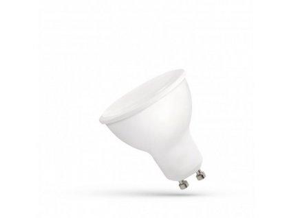 LED žárovka GU10 8W 610lm studená bílá