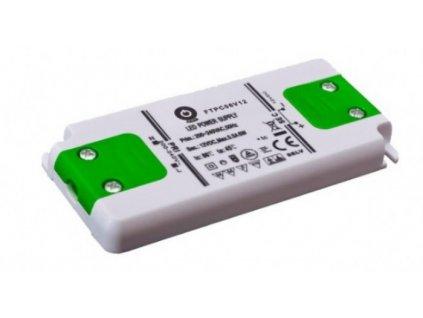 POS napěťový napájecí zdroj nábytkový 12V, 6W, 0,5A, pro LED pásky
