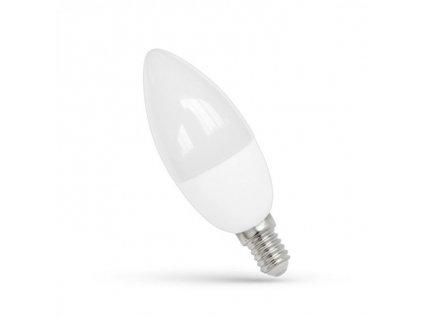 LED žárovka E14 7W 640lm studená bílá