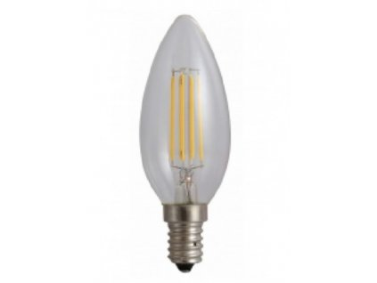 LED žárovka E14 4W 450lm teplá bílá Filament