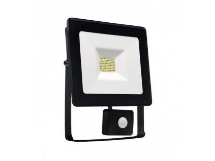 LED reflektor, 10W, 850lm, IP65, teplá bílá, s PIR čidlem, Wojnarowscy SLI029024WW_CZUJNIK