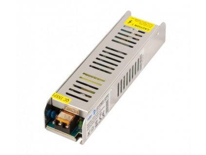 Spínaný napěťový zdroj ADLER 12V, 120W, 10A, IP20, pro LED pásky, provedení SLIM