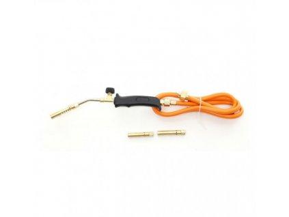 Plynový opalovací hořák PB + 3 koncovky, Kraft&Dele KD10303