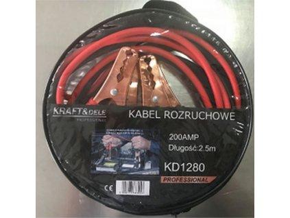 Startovací kabely 200A 2,5m