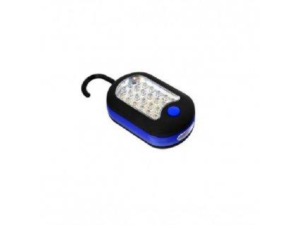 LED svítilna 24 + 3 LED, háček, GEKO G15106