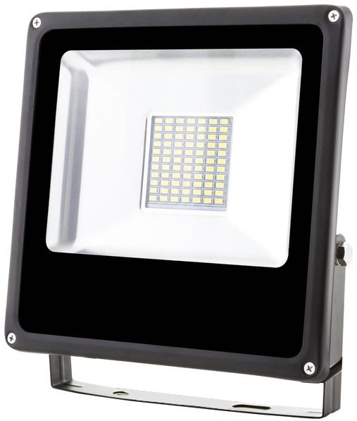 Schwarz LED Fluter 30W SMD Tageslicht