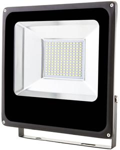 Schwarz LED Fluter 50W SMD Warmweiß