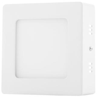 Weißes LED Aufbaupanel 120 x 120mm 6W Warmweiß
