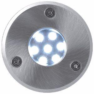 LED Bodeneinbaustrahler 230V 0,5W 7LED Kaltweiß
