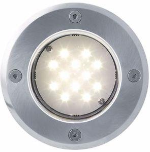 LED Bodeneinbaustrahler 230V 1W 12LED Warmweiß