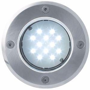 LED Bodeneinbaustrahler 12V 1W 12LED Kaltweiß