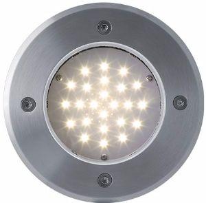 LED Bodeneinbaustrahler 230V 2W 24LED Warmweiß
