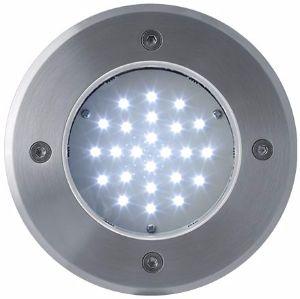 LED Bodeneinbaustrahler 230V 2W 24LED Kaltweiß