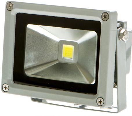 Silber LED Fluter 12V 10W Tageslicht