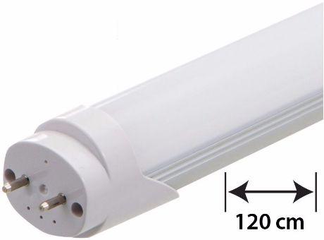 LED Leuchtstoffröhre 120cm 18W milchige Abdeckung Warmweiß