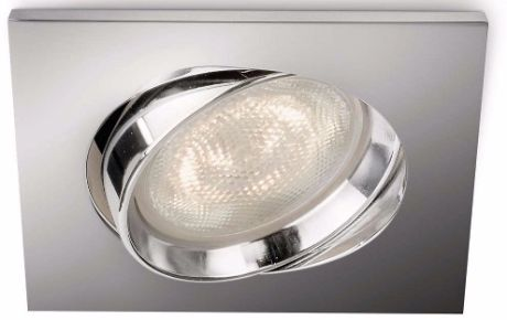 Philips LED Einbaustrahler Galileo Chrom 1x3W - 59081/11/16