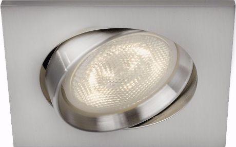 Philips LED Einbaustrahler Galileo Nickel 1x3W - 59081/17/16