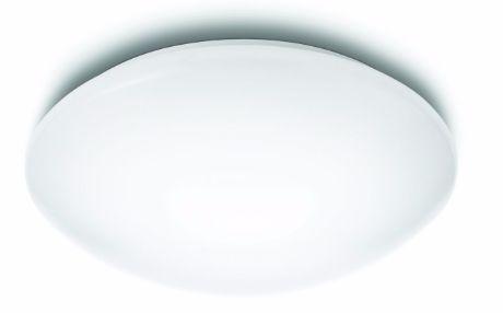 Philips LED moderne Deckenleuchte Suede weiß 4x3W - 31801/31/16