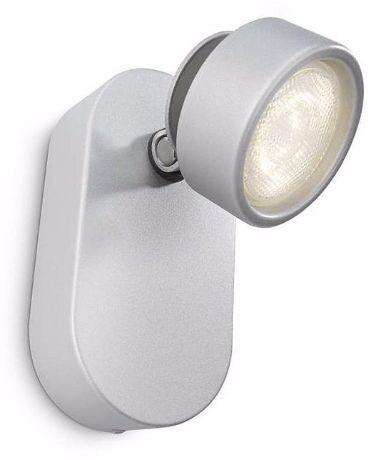 Philips LED Spotleuchte Rimus Aluminium 1x3W - 53270/48/16