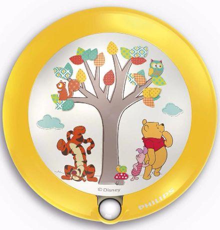 Kinderzimmer Nachtlicht mit Sensor Winnie the Pooh - 71765/34/16