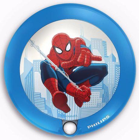 Kinderzimmer Nachtlicht mit Sensor Spiderman - 71765/40/16