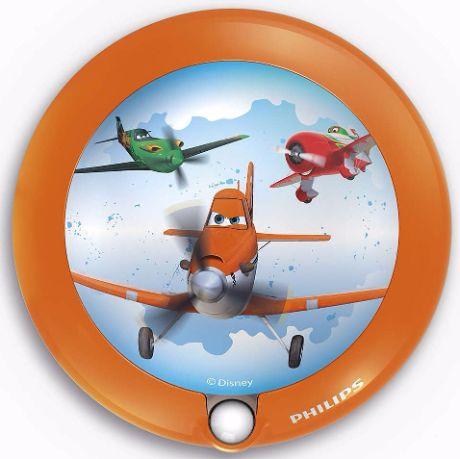 Philips Kinderzimmer Nachtlicht mit Sensor Planes - 71765/53/16