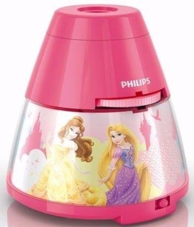 Philips LED Projektor mit Prinzessin-Motiv - 71769/28/16