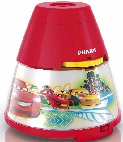 Philips LED Projektor mit Auto-Motiv - 71769/32/16