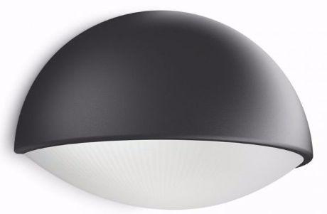 Philips Dust LED Außenwandleuchte schwarz 1x3W - 16407/93/16