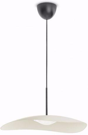 Philips Calgary LED Pendelleuchte cremefarbig 1x4.5W - 40906/38/16
